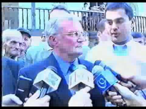 ჯონ (მალხაზ) შალიკაშვილი კახეთში, 2001 წ.