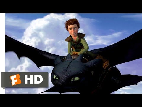 How to Train Your Dragon (2010) - Learning To Fly Scene (5/10) | Movieclips