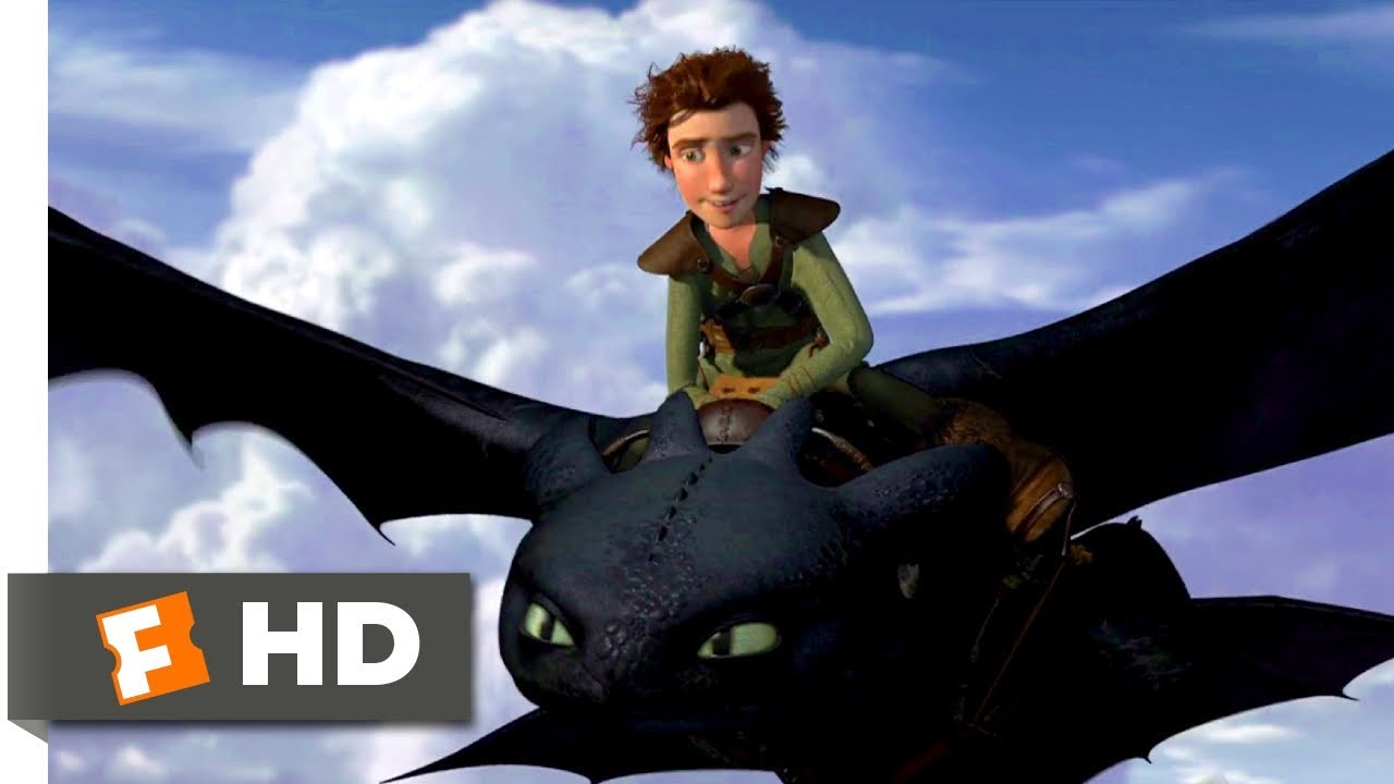 How To Train Your Dragon 2010 Learning To Fly Scene 5 10 Movieclips Youtube