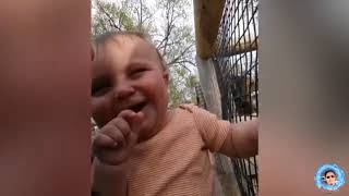 Funny Cute Baby and Funny Animals Compilation  Volume #1