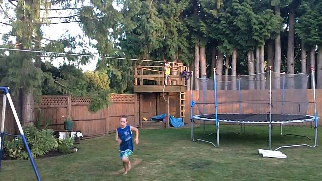 Backyard Zip Line | Outdoor Goods