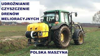 Oczyszczarka drenow AgroDren30, PRESKAN