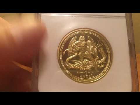 St. Michael Gold Coin