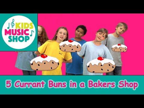 5 CURRANT BUNS