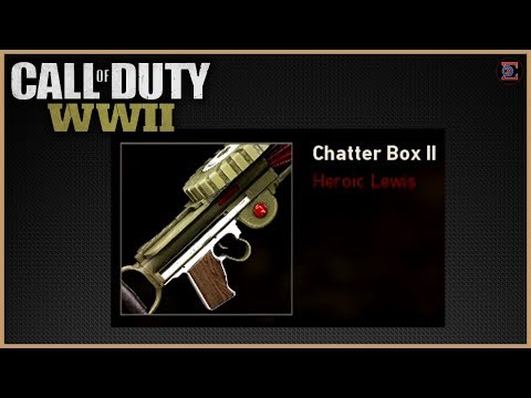 "FREE HEROIC LEWIS ""CHATTERBOX 2"" in Call of Duty: WW2"