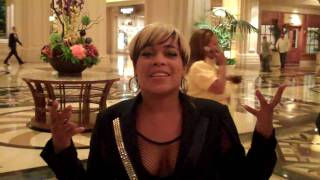 T-Boz Saying Hello To The Facebook Fans