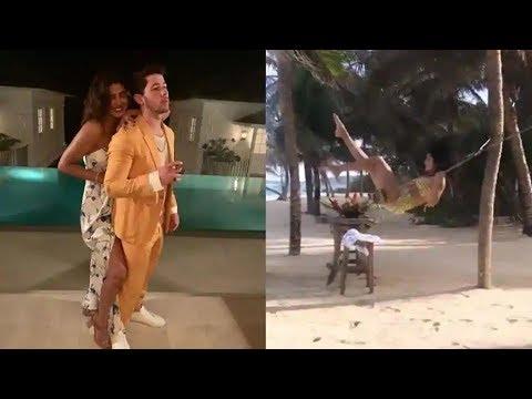 INSIDE Video | Priyanka Chopra & Nick Jonas HONEYMOON In The Caribbean Mp3