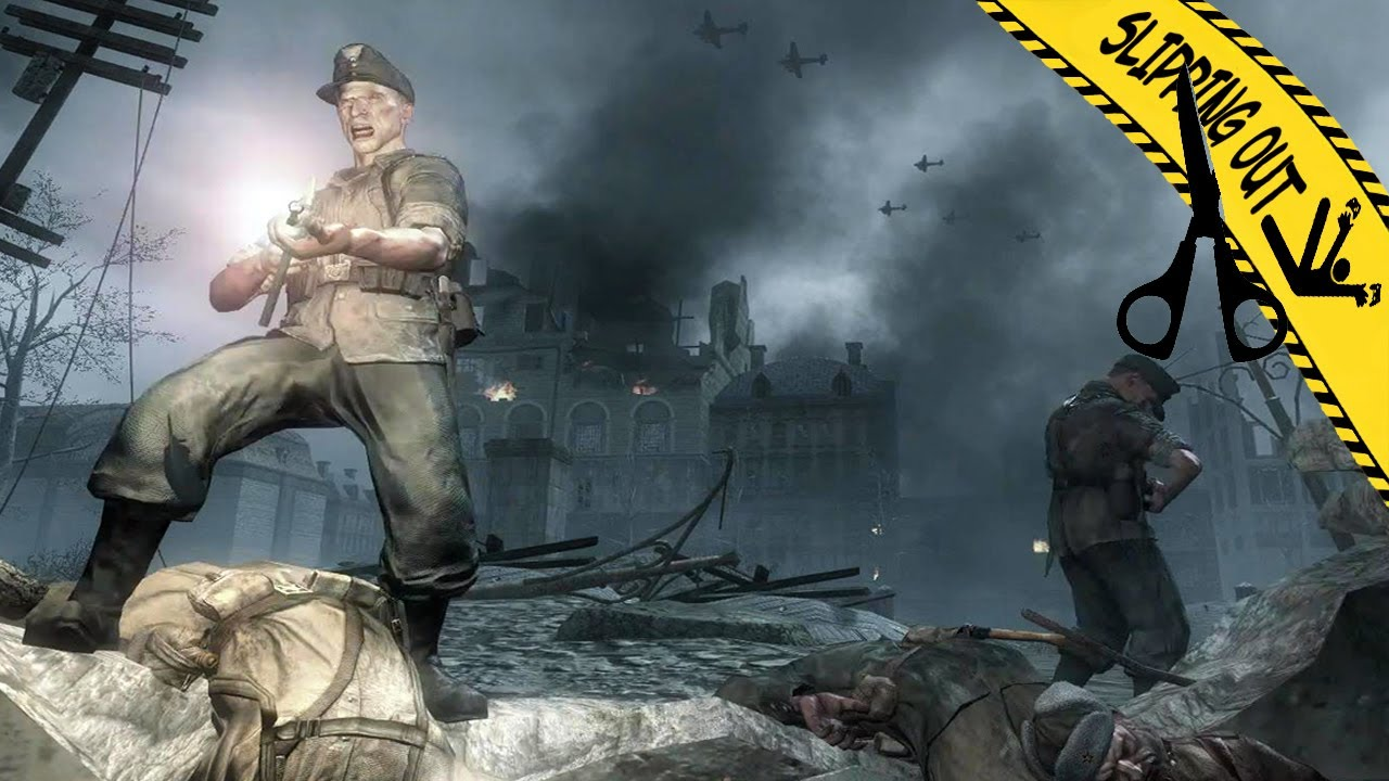 Call of Duty World at War | Slipping Out Cut Content