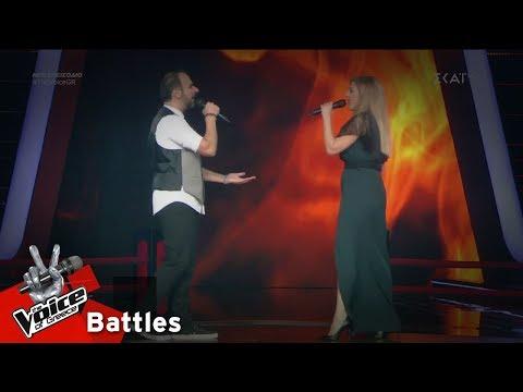 Αβραάμ Ιντζεβίδης vs Πόπη Ευσταθίου – Ένας έρωτας μεγάλος   3o Battle   The Voice of Greece