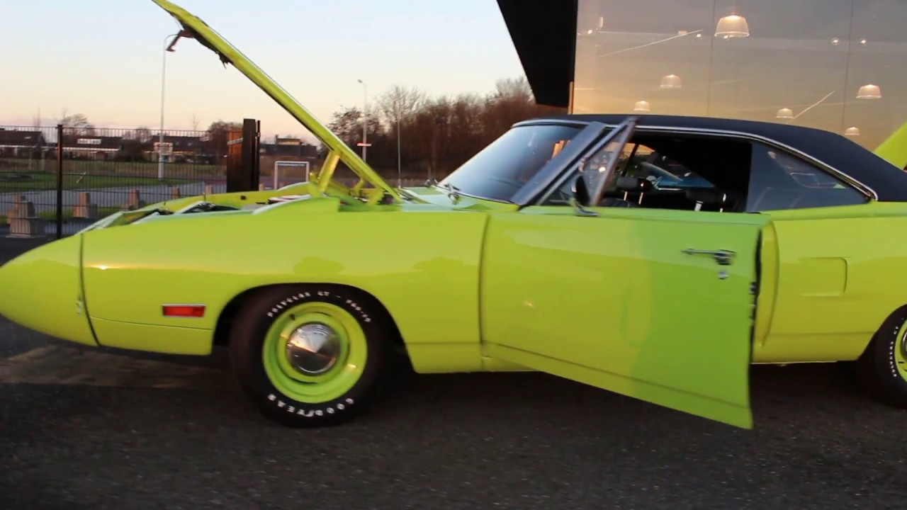 1970 Plymouth SUPERBIRD 4 Spd For Sale By PTTM Musclecars Holland
