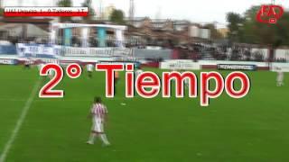 FATV 16 Fecha 15 - UAI-Urquiza 2 - Talleres 0