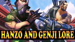 Overwatch Lore - Origin Story: Hanzo and Genji