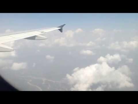 GoAir Airbus A320- Landing at Jammu airport !