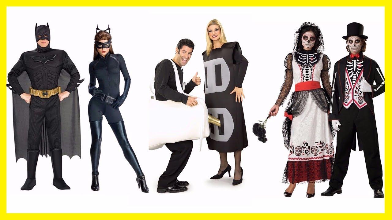 TOP 10 Couples Halloween Costumes. Best Halloween Costumes