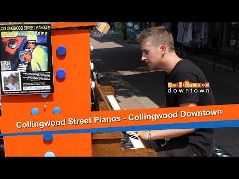 Downtown Collingwood Street Pianos