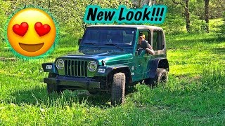 Stolen Recovery Jeep NEW LOOK!