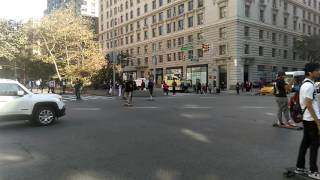 Skateboarders Broadway & west 86th st. October 15th 2016