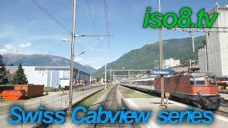 [FHD60p] CabView : SBB Re4/4, Switzerland Vol.1 Climbing Gotthard-pass thumbnail