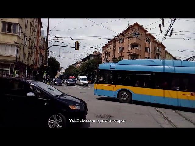 Sofia Trolleybus Škoda 26Tr Solaris #1608,Line 8