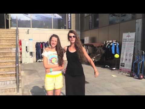 Отзыв девушек о полете на флайборде