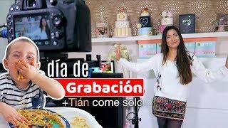DÍA DE GRABACIÓN + TIÁN YA COME SOLO Y MÁS COSAS   En casa con Pam y Fer