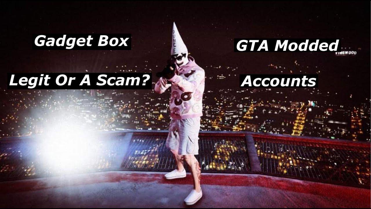 Gadget Box - GTA Modded Account Site.. Legit Or Scam?