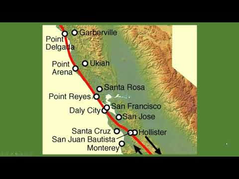 Could Huge Earthquakes Trigger Big One On San Andreas  Fault?