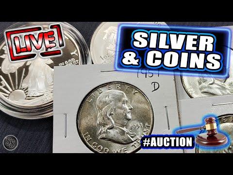 Vintage Coins & Premium Silver! - Sat Night Auction LIVE!