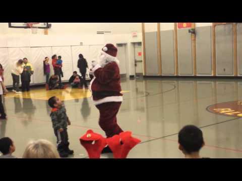 Kotlik school Christmas program 2013 pt 1