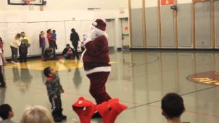 Kotlik school Christmas program 2013 pt 1
