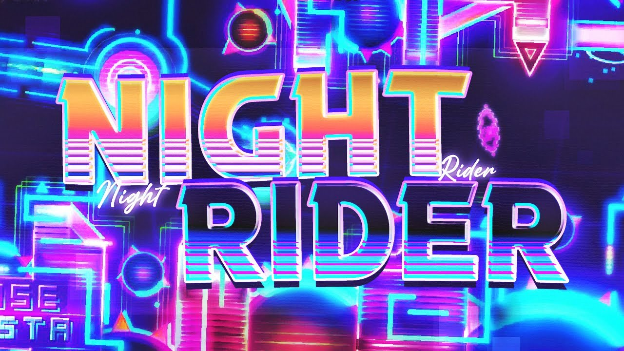 """""""NIGHT RIDER"""" 