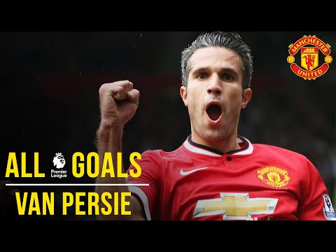 Robin van Persie | All the Premier League Goals | Manchester