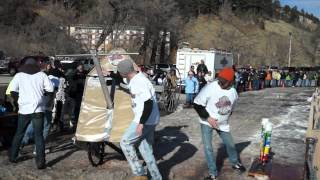 2012 Nemo 500 Outhouse Race Number 2 Place Finishers In Thier Class Royal Flushers.