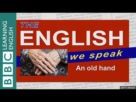 An old hand: The English We Speak