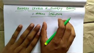 Energy Levels & Energy Bands | Atomic Structure | Part - 1