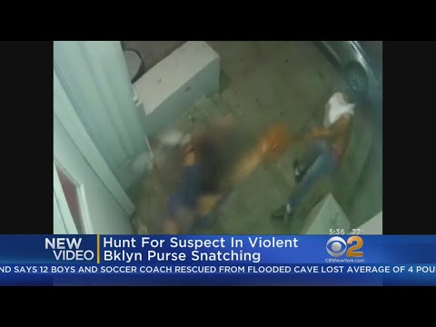 Hunt For Suspect In Violent Brooklyn Purse Snatching