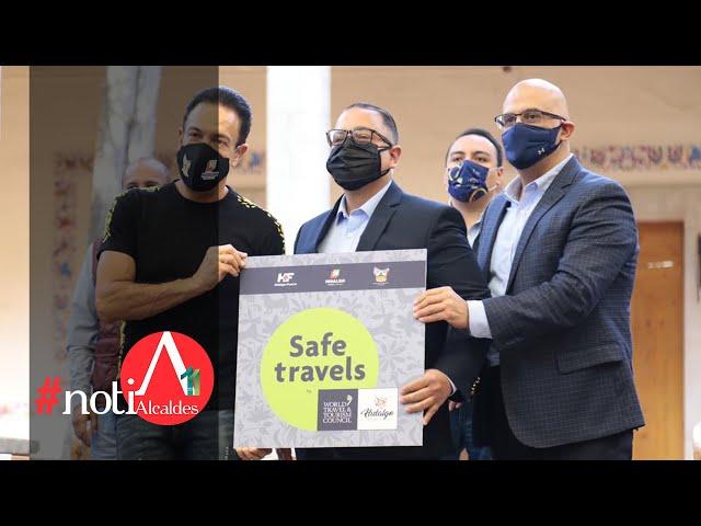NotiAlcaldes: Hidalgo obtiene distintivo de destino seguro