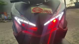 Entu watanabe..vario 150 led.projector xtrail up 40watt.pass beam 40watt