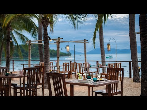 Trade Wind restaurant at Samui Palm Beach Resort