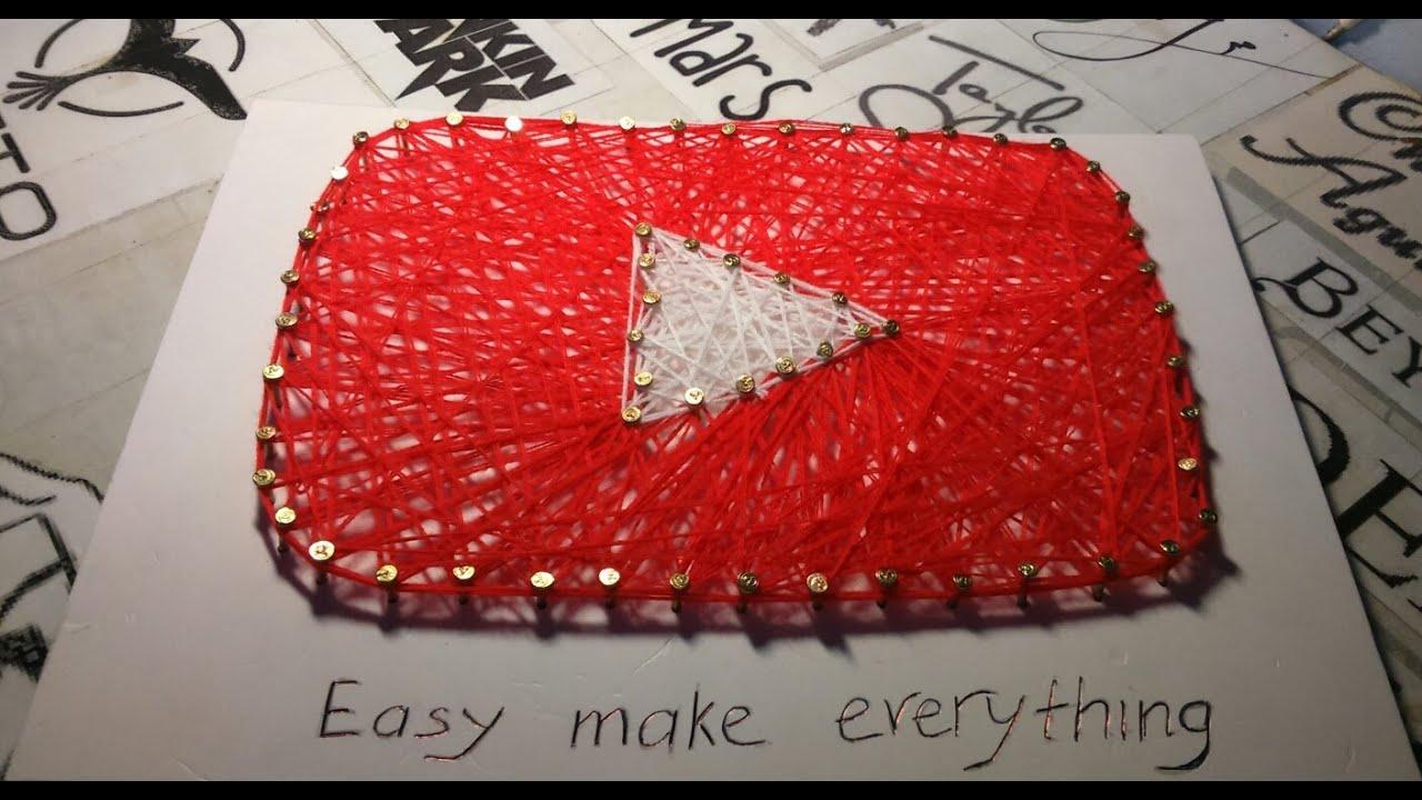 Easy String Craft Ideas