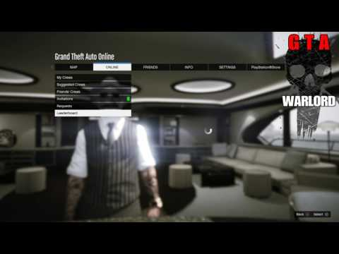 GTA 5 Online How 2 Join Or Leave A Crew