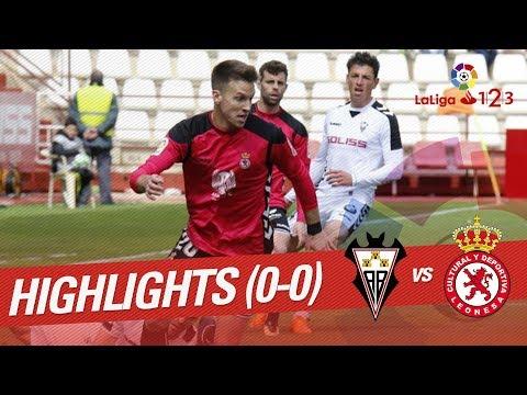 Resumen de Albacete Balompié vs Cultural Leonesa (0-0)