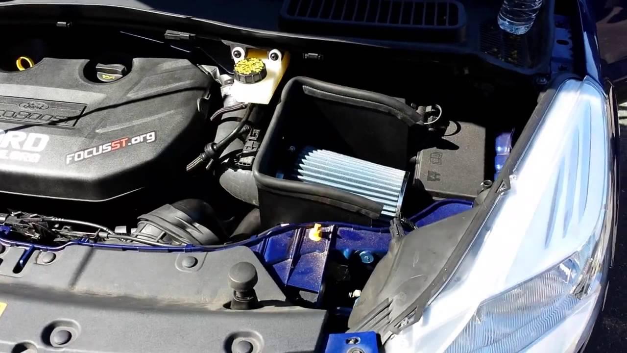 2017 Ford Escape With Steeda Intake