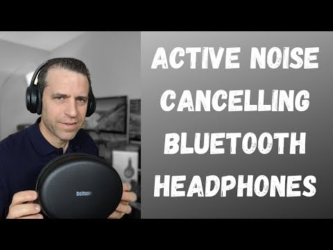 Boltune Active Noise Cancelling Bluetooth Headphones And Bose QC 35 Review