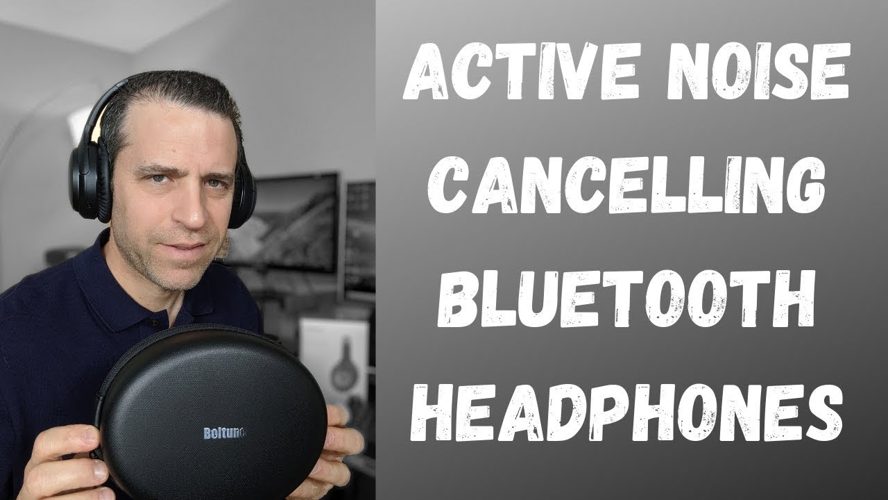 Boltune Active Noise Cancelling Bluetooth Headphones And Bose Qc 35 Review Youtube