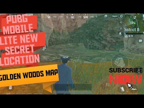 PUBG MOBILE LITE SECRET LOOTING PLACE ||GOLDEN WOODS MAP||Drago X GAMING