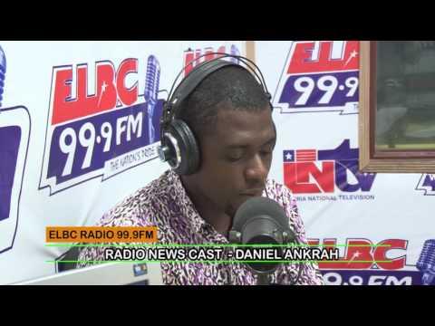 LIBERIAN JOURNALIST, DANIEL ANKRAH LIVE NEWS CLIP