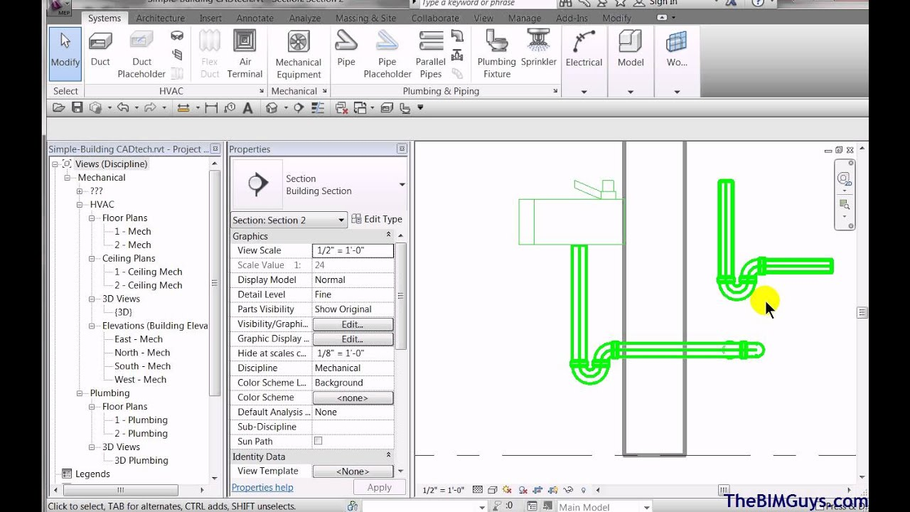 Revit Mep P Traps Can Be Your Friend Cadtechseminars