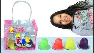 Shfa Mukbang حقيبة جيلي bag  jelly candy