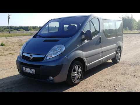 Opel Vivaro 2009г. Life за 7500 евро. АВТО ИЗ ЛИТВЫ. UAB VIASTELA